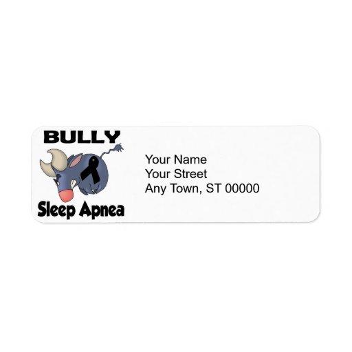 BULLy Sleep Apnea Return Address Label
