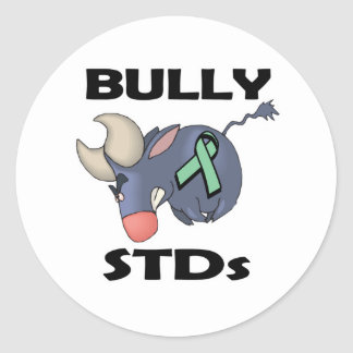 BULLy STDs Classic Round Sticker