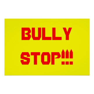 BULLY STOP!!! Poster