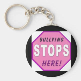 Bully Stops Here Keychain