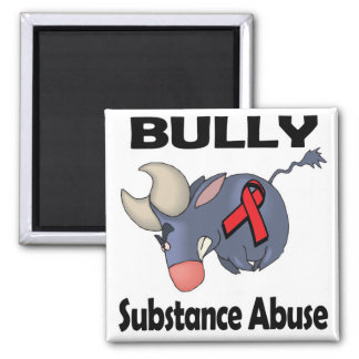 BULLy Substance Abuse Fridge Magnets