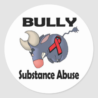 BULLy Substance Abuse Sticker