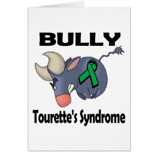 BULLy Tourettes Syndrome Card