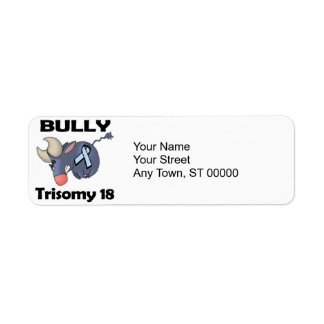 BULLy Trisomy 18 Return Address Label