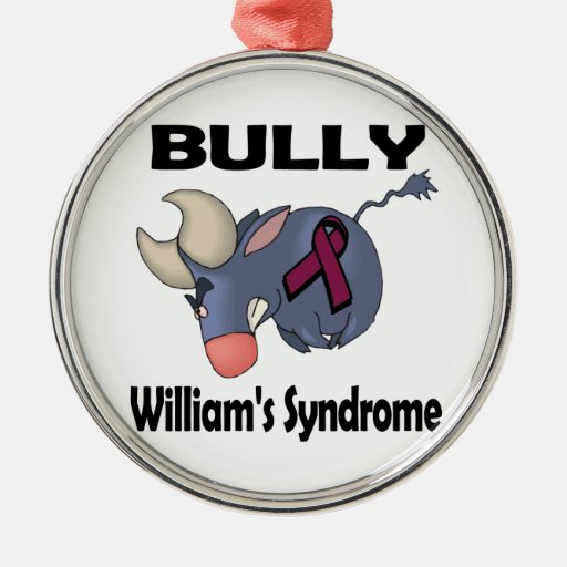 BULLy Williams Syndrome Christmas Tree Ornament