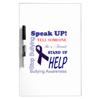 Bullying Awareness Gifts Anti Bullying Dry-Erase Board