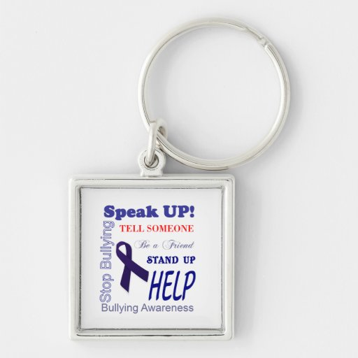 Bullying Awareness Gifts Anti Bullying Keychain