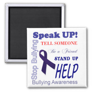 Bullying Awareness Gifts Anti Bullying 2 Inch Square Magnet