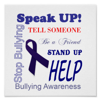 Bullying Awareness Poster