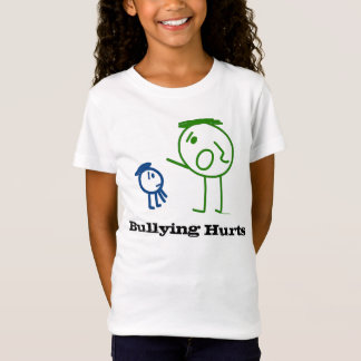 Bullying Hurts girl's t-shirt