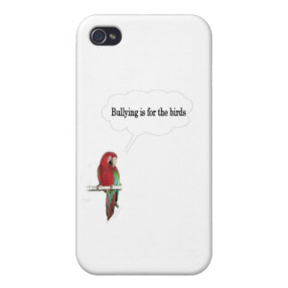 Bullying is for the birds iPhone 4 covers