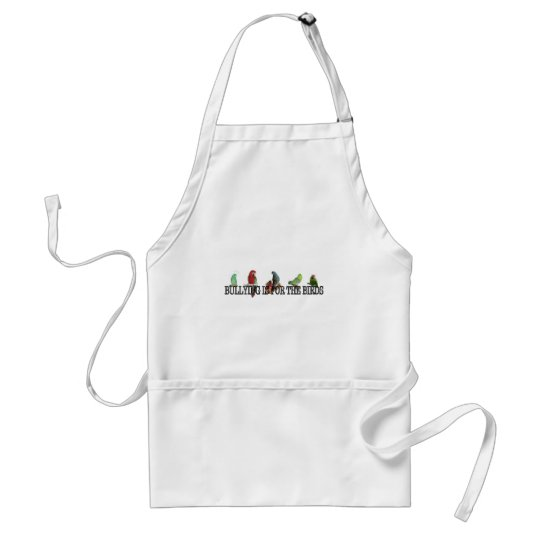Bullying is for the birds.jpg adult apron