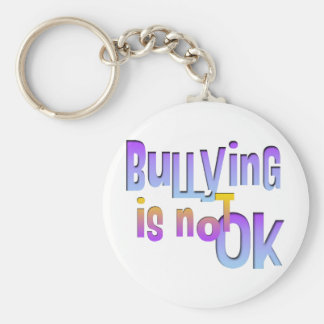 Bullying is NOT OK Keychain