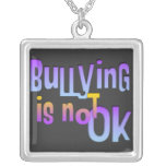 Bullying is NOT OK  Necklace