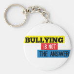 Bullying is not the answer key chains