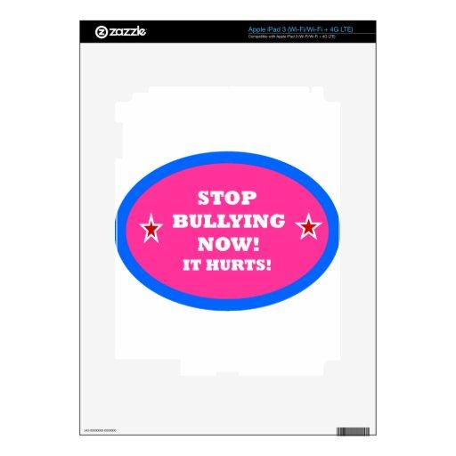 BULLYING.png iPad 3 Pegatinas Skins