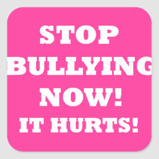 BULLYING.png Square Sticker