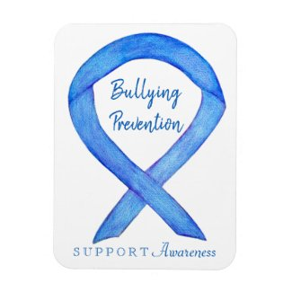 Bullying Prevention Awareness Ribbon Custom Magnet