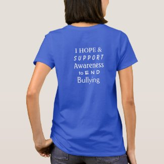 Bullying Prevention Awareness Ribbon Custom Shirt