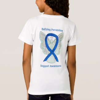 Bullying Prevention Awareness Ribbon Custom TShirt