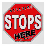 BULLYING STOPS3 POSTER