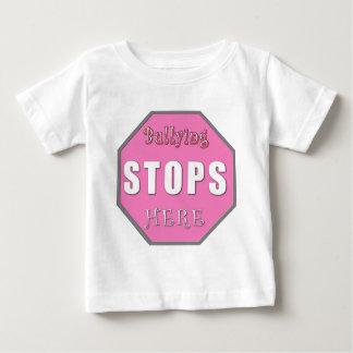 Bullying Stops Here Baby T-Shirt