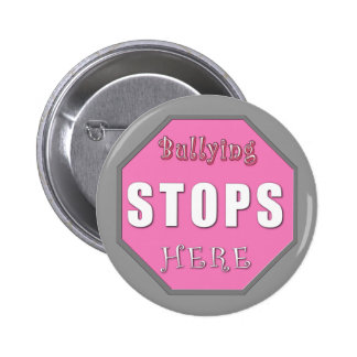 Bullying Stops Here Buttons