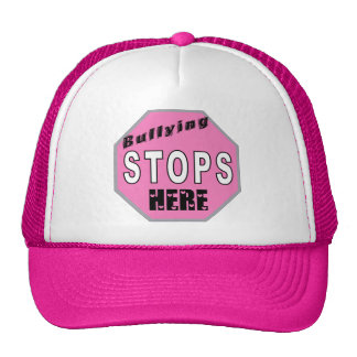 Bullying Stops Here Cap Hats