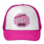 Bullying Stops Here Cap Trucker Hat