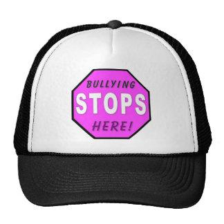 Bullying STOPS Here Trucker Hats