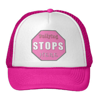 Bullying Stops Here Hats