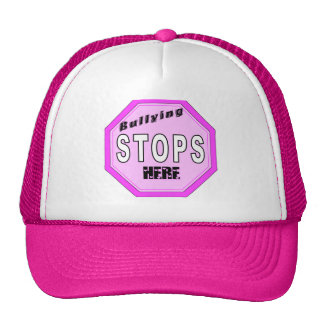 Bullying Stops Here Mesh Hats