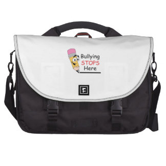 BULLYING STOPS HERE BAGS FOR LAPTOP