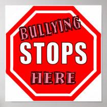 Bullying Stops Here Poster