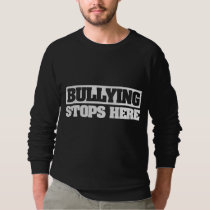bullying stops here sweatshirt