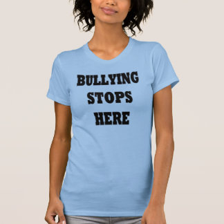 Bullying Stops Here Shirt