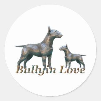 BullyinLove- Logo Classic Round Sticker