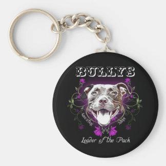 Bullys, el líder del perro del paquete llavero personalizado