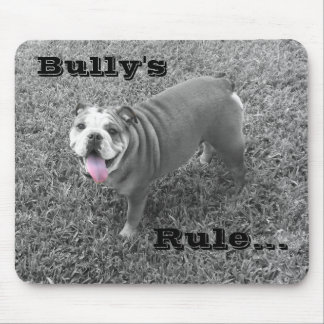 bullys rule mouse pad