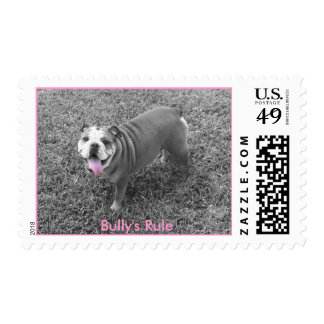 Bully's Rule Postage Stamps