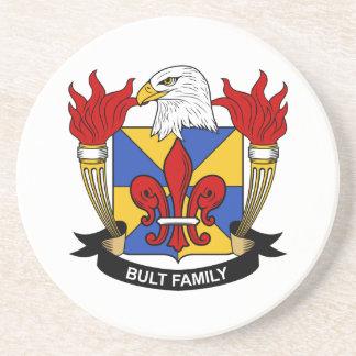 Bult Family Crest Coaster