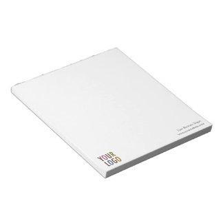 Bulto promocional del logotipo de Custom Notepad Bloc De Notas