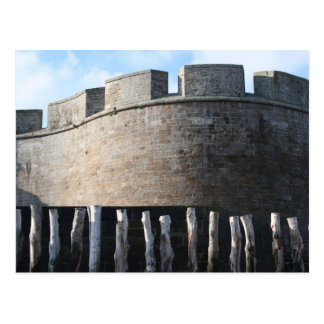 Bulwark Fortification Saint Malo Brittany Postcard