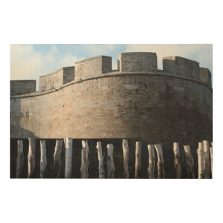 Bulwark Fortification Saint Malo Brittany Wall Art