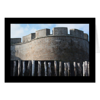 Bulwark Fortifications Saint Malo Brittany card