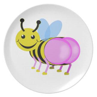 bum  blebee plate