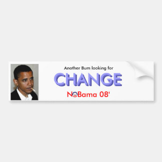 Bum... Change Bumper Sticker