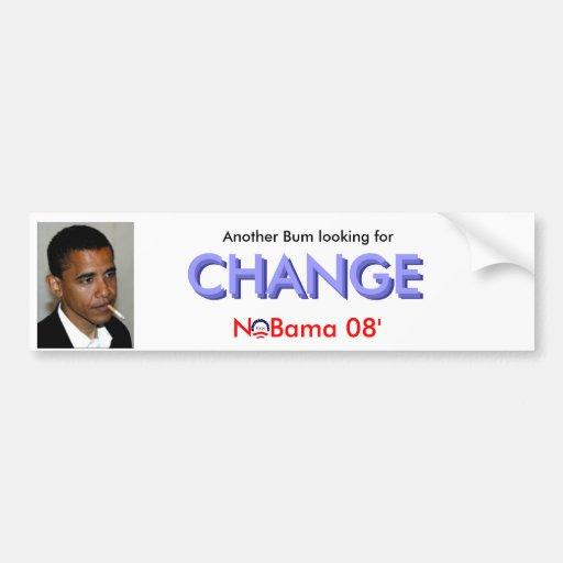 Bum... Change Bumper Stickers
