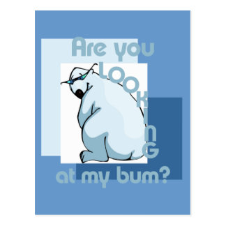 Bum Looker Postcard