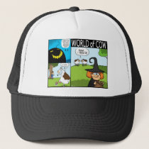 Bum pumpkin, Cow dentures and Halloween 'treats' Trucker Hat